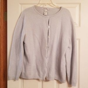 Angora mix sweater